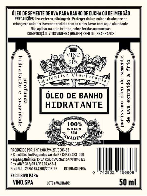 Rotulo – OLEO DE BANHO HIDRATANTE